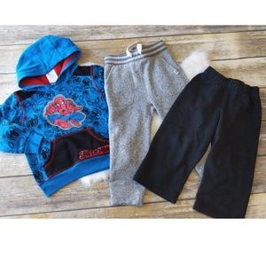 Cozy sweats size 2T lot